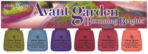 China Glaze Avant Garden Blooming Brights