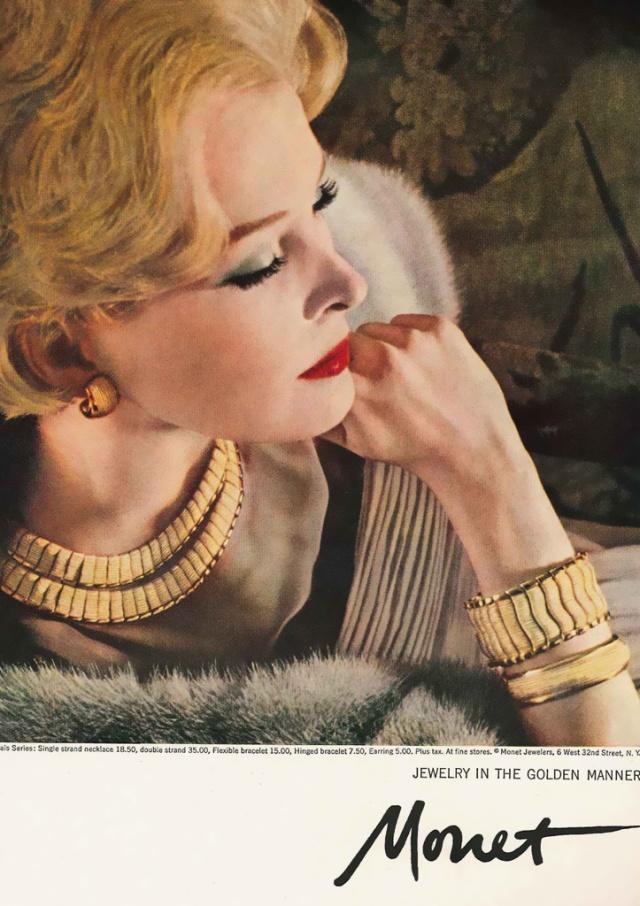 Monet Ad circa 1959