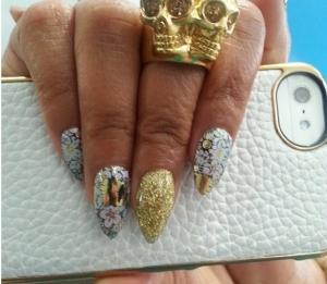 Taraji P Henson Nails