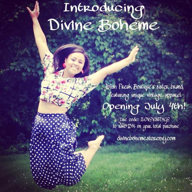 Introducing Divine Boheme